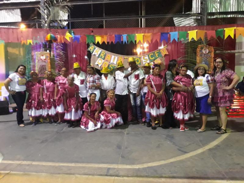 Prefeitura de Santo Antônio dos Milagres realiza Arraiá dos Idosos