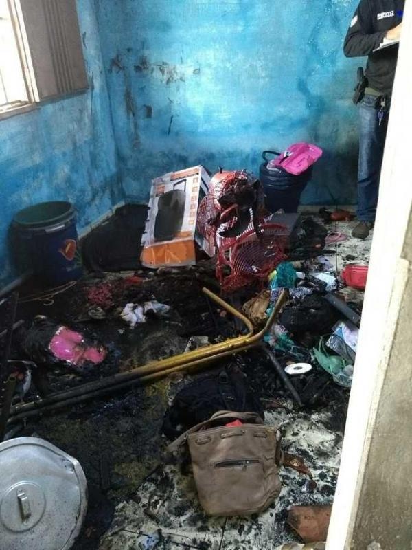 Psicóloga diz que autor de incêndio que matou casal sofreu 'surto'