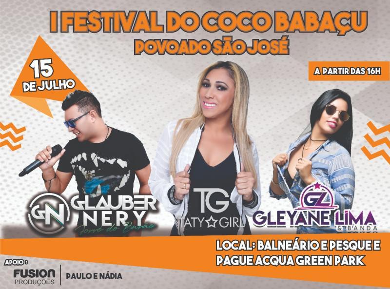 Dia 15 acontece o I Festival do Coco Babaçu no Médio Parnaíba