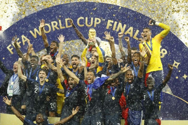 Campeã jovem, França tem geração que pode defender título