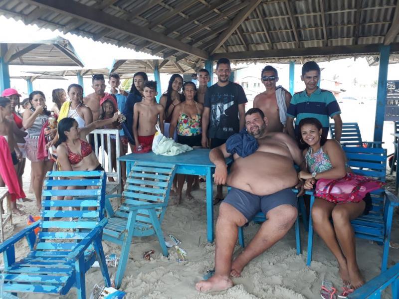 Empresário Maxuel realiza excursão no Final de semana de Lazer para seus Amigos