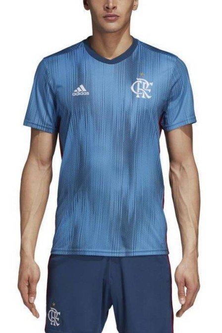 Fla divulga o 3º uniforme na cor azul, em alusão às praias do Rio