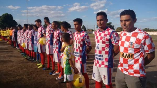 Abertura do Campeonato de Futebol 2018 de Hugo Napoleão