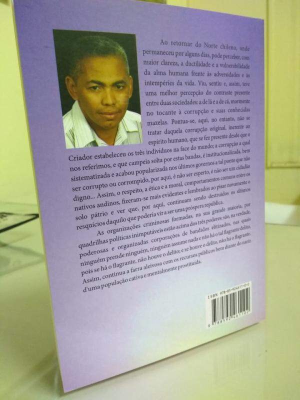 Empresário Filho de Agricolandenses Lança Livro que compara a Cultura Brasileira a Chilena
