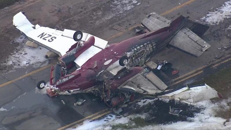 Vítimas de avião que caiu em aeroporto de SP são identificadas