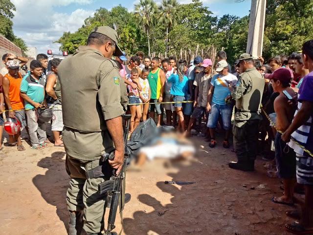 Homem é morto a facadas pelo primo após discussão em Cocal