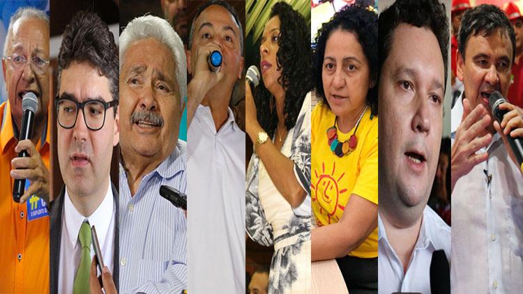ELEIÇÕES 2018: prazo das convenções termina e partidos lançam 8 candidatos ao Governo do Piauí