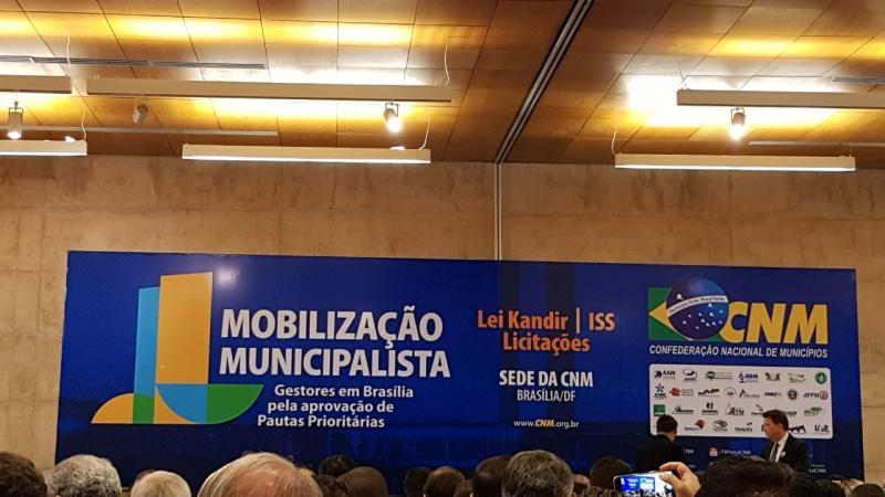 Presidente da AMPAR  participa de Mobilização em Brasília
