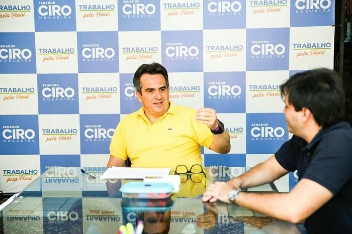 Pesquisa Ibope indica a reeleição de Ciro Nogueira para o Senado