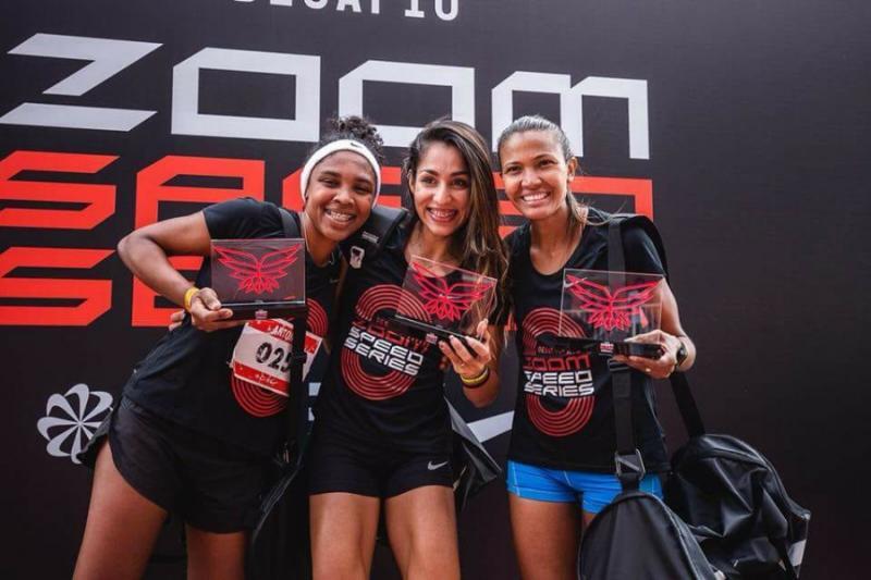 Atleta Olhodaguense é a segunda mais rápida do Desafio Zoom Speed Series de São Paulo