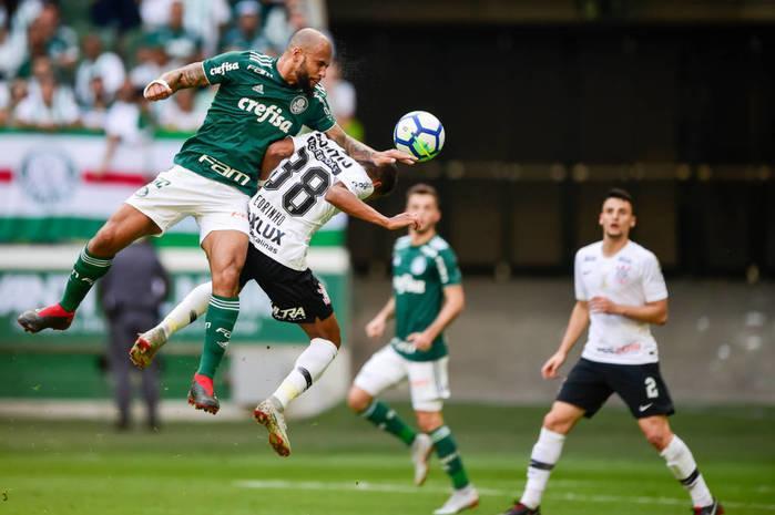 Palmeiras vence Corinthians no Allianz Parque e segue na Briga pelo Titulo
