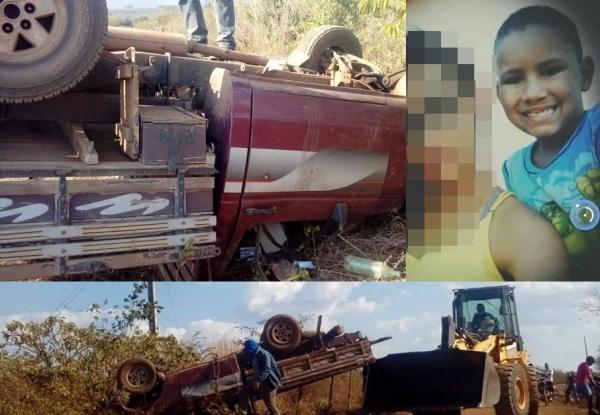 Criança de 9 anos de idade morre em Acidente em Agricolândia