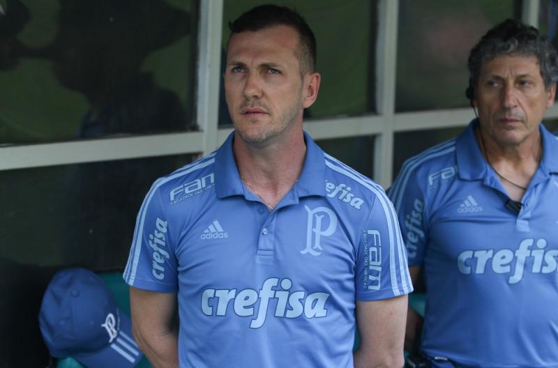 Paulo Turra admite jogo abaixo do Palmeiras, mas ressalta entrega dos jogadores: