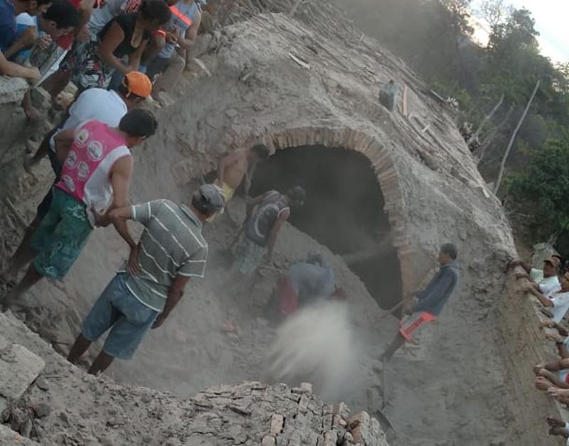 Duas pessoas morrem soterradas em olaria no interior do Piauí