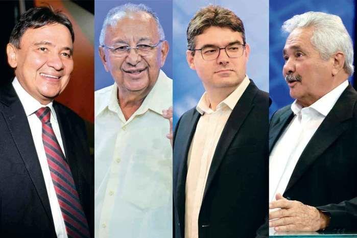 Wellington Dias lidera com 41,95%; Dr. Pessoa tem 14,42%