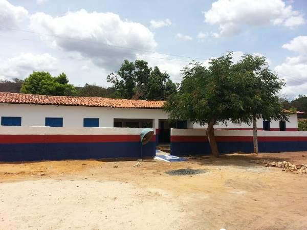 PMA Reforma a U.E. Antônio Bernardo de Oliveira na localidade Buraco Dágua