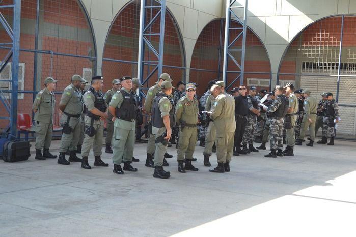 5.478 policiais militares estão sendo enviados para as eleições