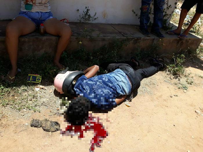 Jovem é executado com tiros de revólver em conjunto na Z.Sul