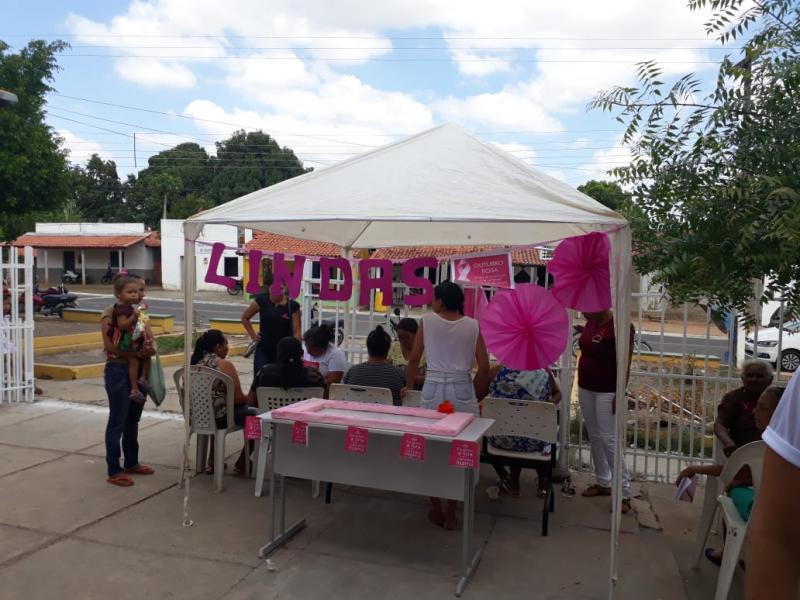 Secretaria de Saúde de Santo Antônio dos Milagres Realiza evento em Alusão ao Outubro Rosa