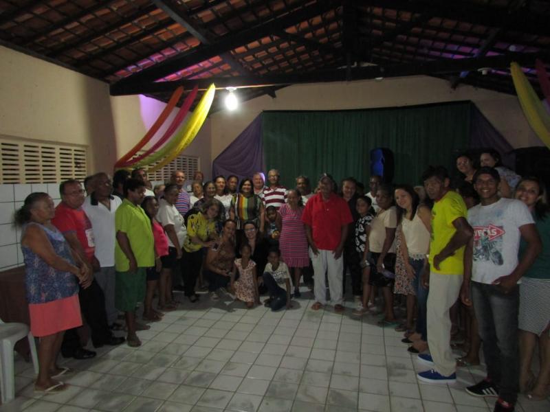 SCFV realiza festa com o Grupo de Idosos de Lagoinha