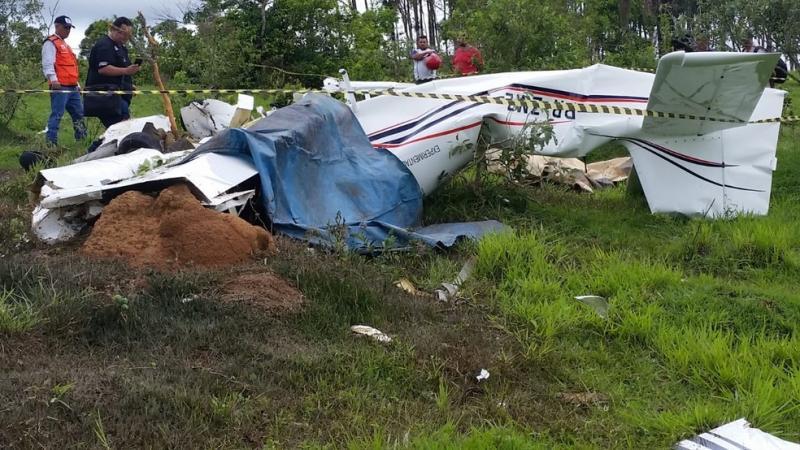 Família morre em acidente com aeronave em Patos de Minas