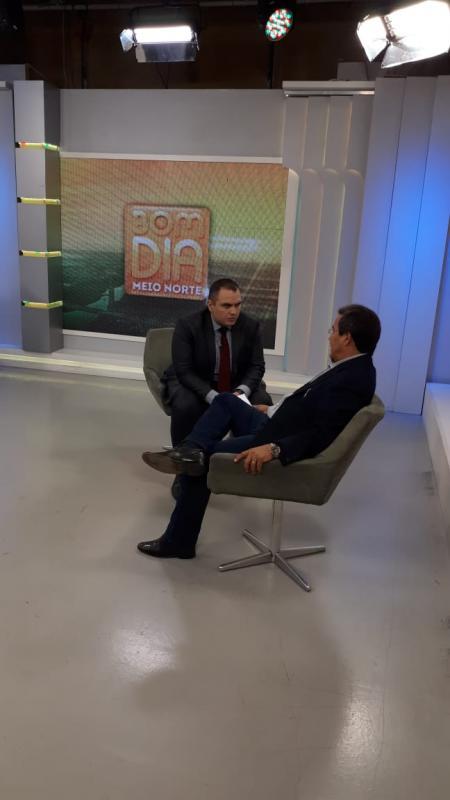 Jonas Moura Concede Entrevista na TV Meio Norte e Fala de Propostas para a APPM