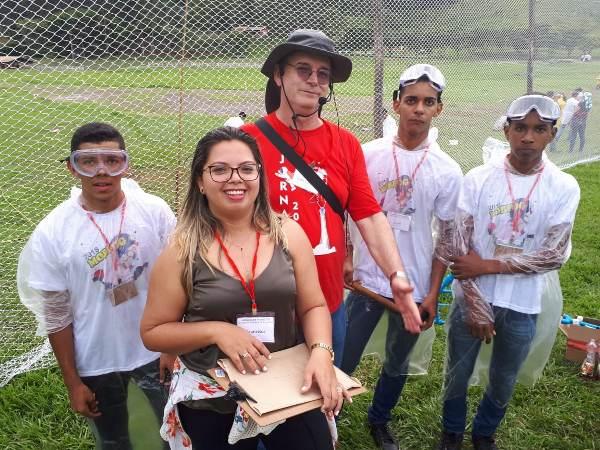 Alunos agricolandenses participam de jornada de foguetes no Rio de Janeiro - RJ
