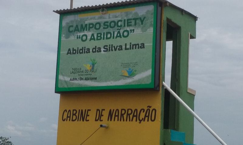 Campo Society de Lagoinha ganha cabine de Narração