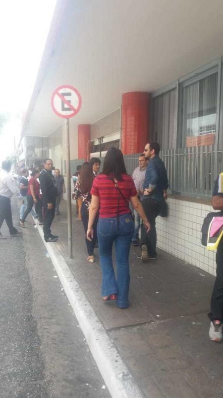 Prédio do Banco do Nordeste é evacuado após principio de incêndio