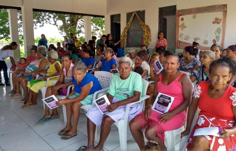 Ônibus Lilás realizou atendimentos na Cidade de Santo Antônio dos Milagres