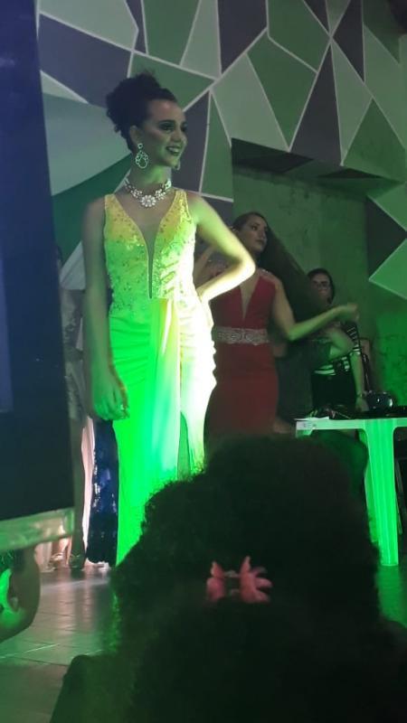 Emanuelly Lima consegue segundo Lugar na Categoria Glamour no Concurso de Beleza realizado em Teresina