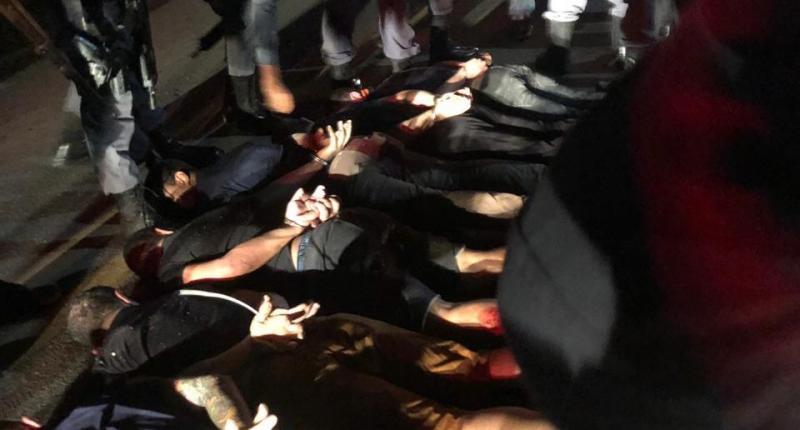 assaltantes do BB de Bacabal se entregaram de mãos na cabeça em Santa Luzia do Paruá