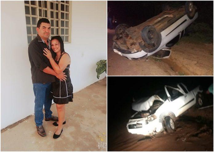 Homem morre e esposa fica ferida após acidente no Sul do PI