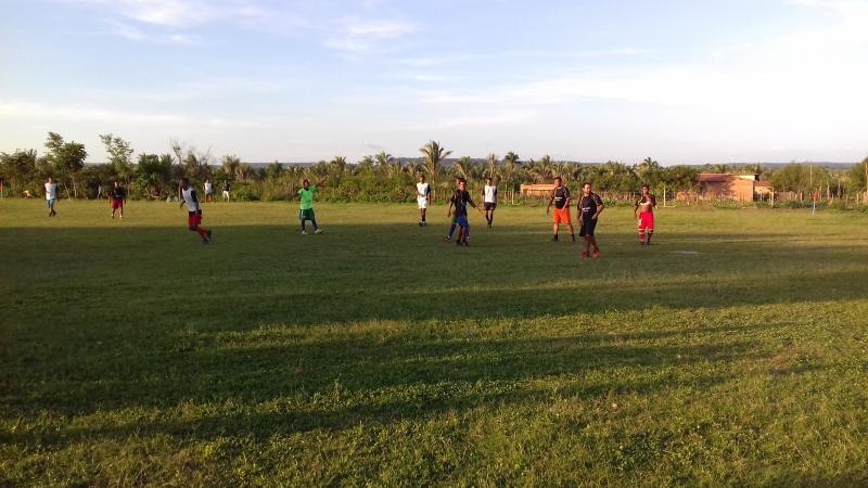 Em Lagoinha está acontecendo Torneio de Futebol Natalino