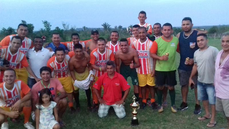Barrocão Campeão do Torneio Natalino em Lagoinha do Piauí
