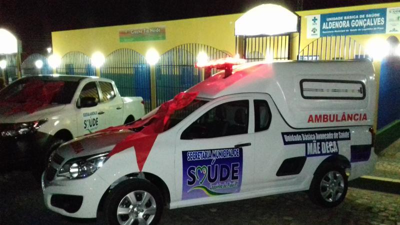 Prefeitura de Lagoinha do Piauí Inaugura Academia e entrega Transportes a população