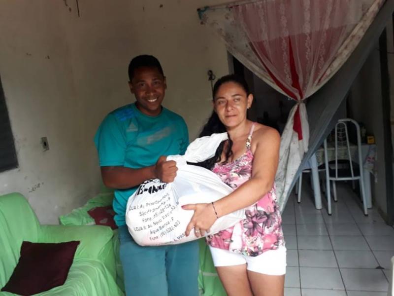 Amigos de Lagoinha realizaram Jogo Beneficente para arrecadar alimento para a Campanha Natal feliz