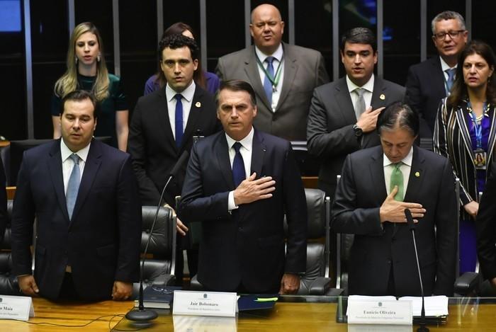 Posse de Jair Bolsonaro na Presidência da República