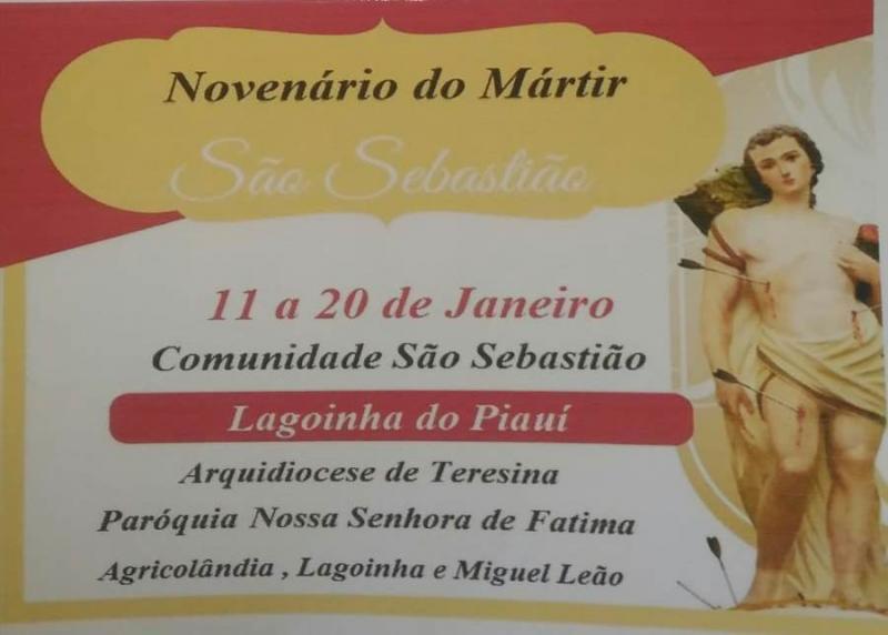De 11 a 20 de Janeiro acontece o Festejo de São Sebastião em Lagoinha
