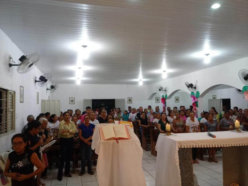 População participa do Festejo de São Sebastião em Lagoinha