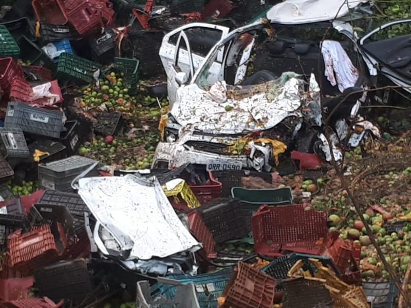 Acidente na BR 316 em Estaca Zero deixa dois Mortos