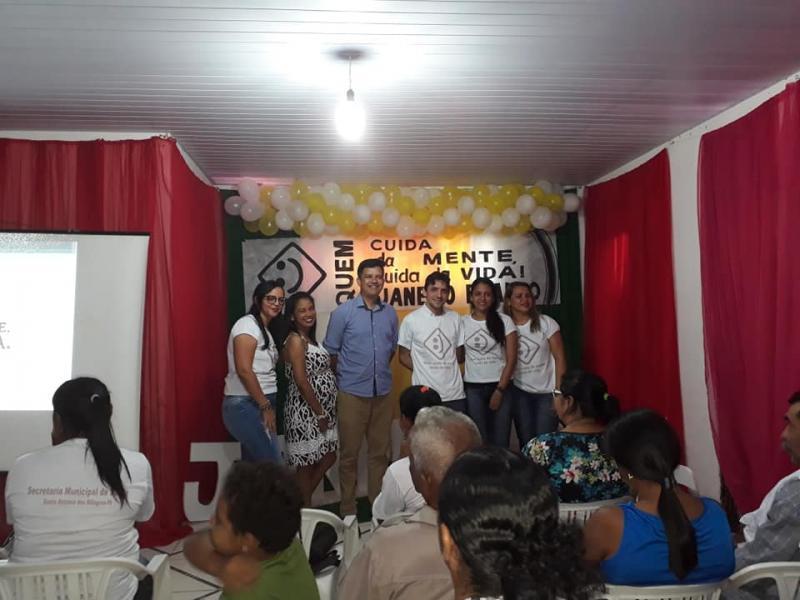 Secretaria de Saúde de Santo Antônio dos Milagres Realiza Campanha Janeiro Branco