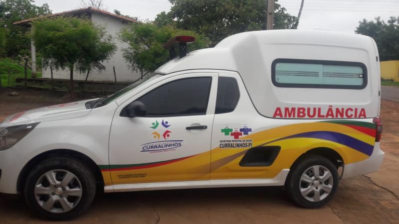 Cidade de Curralinhos é contemplada com uma Ambulância
