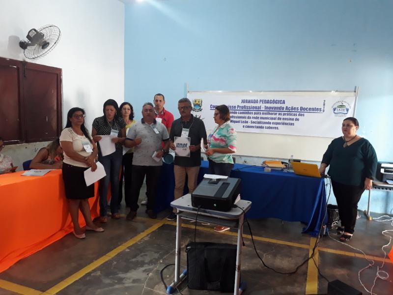 Secretaria de Educação de Miguel Leão Realizou Jornada Pedagógica na Cidade