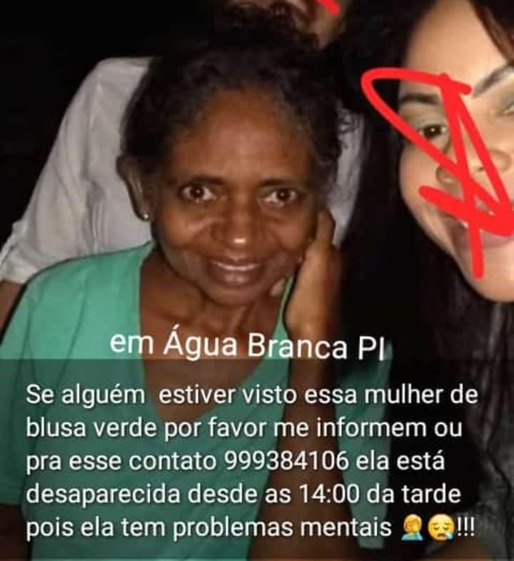 Familiares estão a Procura de Maria José desparecida dês do dia 11 de fevereiro