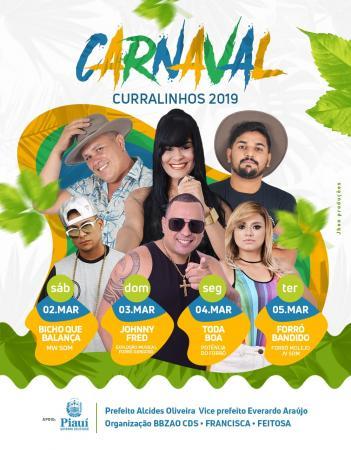 Vem ai o Carnaval de Curralinhos Piauí