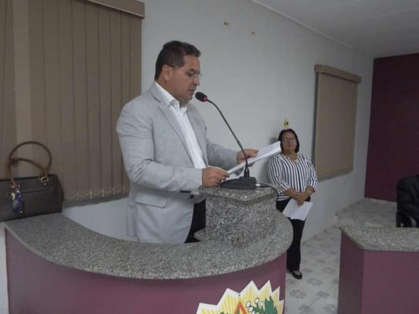 Prefeito Junior Carvalho participa da Abertura dos Trabalhos na Câmara Municipal de Demerval Lobão