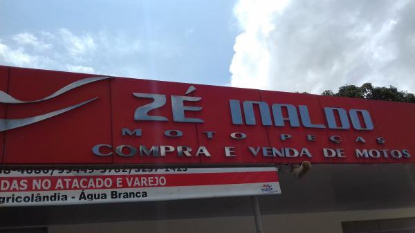 Em Agricolândia você conta com Zé Inaldo Moto Peças