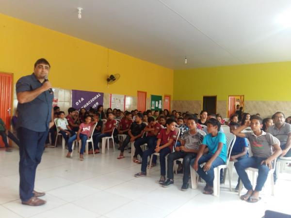 Prefeitura de Curralinhos promoveu Ações do Programa Saúde na Escola