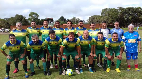 Seleção de Master da OAB-PI vence jogo Amistoso em Lagoinha